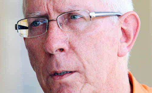 QUEENSLAND Rail boss Lance Hockridge visits Rockhampton