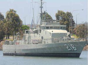 HMAS Gladstone broken into over weekend