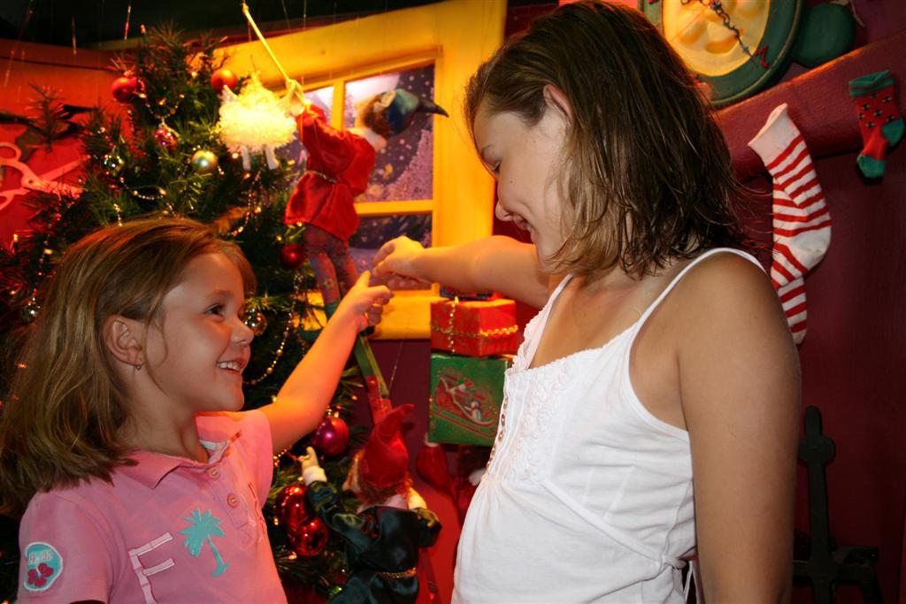 Santa's Secret Workshop at The Ginger Factory.