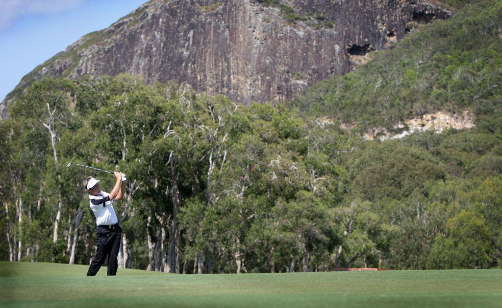 Stuart Appleby playing at the PGA Championship.