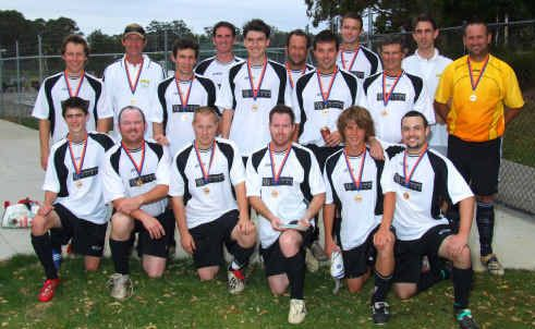 Yamba's winning Second Division team from 2009 will be stepping up to the top league in 2010.