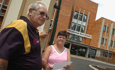 Glynn Turner and Denise Aitken are calling on all dialysis patients, carers and supporters in the Maryborough district to attend the inaugural lobby group meeting.