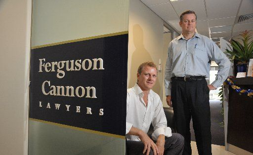 Tony Pattinson and Jim Carlile from Ferguson Cannon Lawyers have set up a division to help business navigate workplace laws.