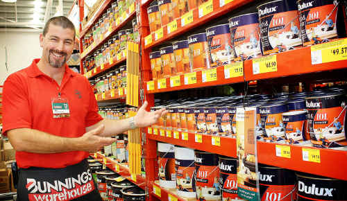 Maryborough Bunnings store manager Ben Hawkshaw is preparing for the influx as the store opens today.