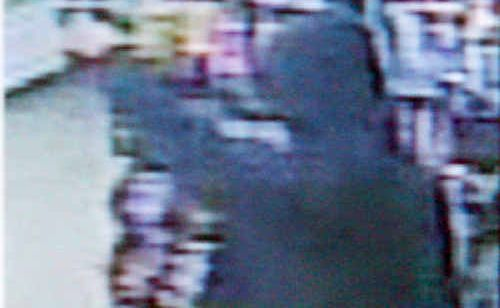 CCTV images of the hold up