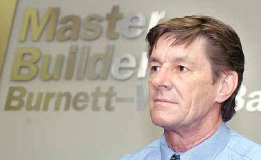 Queensland Master Builders Association's regional manager, Rory McDonald.