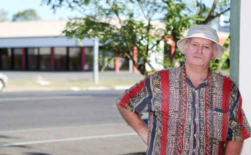 Barry Mills lives across the road from where the new IGA is to be built in Dean Street, North Rockhampton.