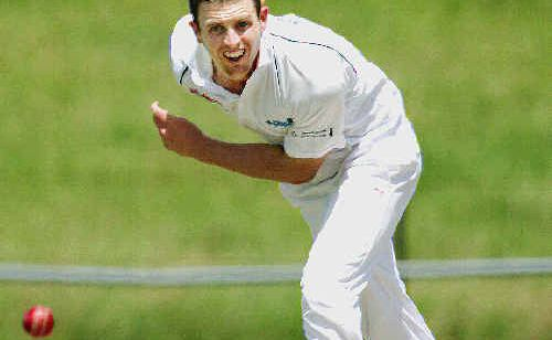South Tweed Colts strike bowler Alex Rigby will be hunting for Terranora wickets thisafternoon at Colts' Dave Burns Field.