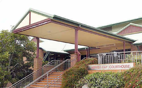Hervey Bay Courthouse where the sex offender appeared.