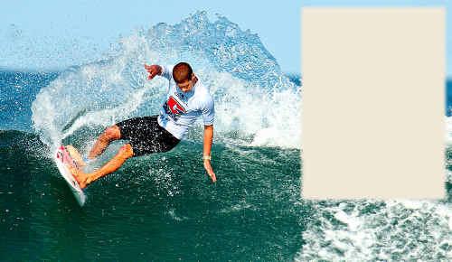 Sunshine Coast surfer Chris Friend