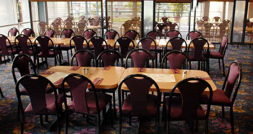 SET UP: The Grafton District Services Club is being refurbished.