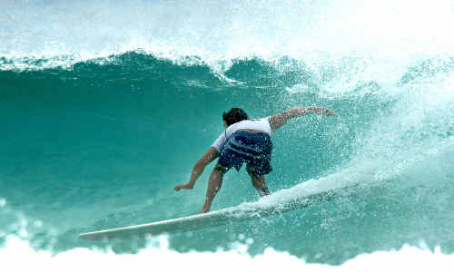 Surfer Troy Mothershead in action at Malfunction. The next Malfunction will have a film festival added to its itinerary.