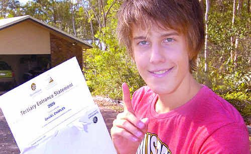 Daniel Charles of Torquay was ecstatic to learn he received an OP 1 result from Xavier College.