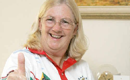 Bargara bowler Gail Crompton has earned a place in the Queensland Bowls team to play at the Australian Sides Championships in Adelaide.