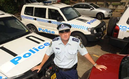 Acting Police Inspector Sergeant Dallas Leven focuses on early stages of Operation Safe Arrival.