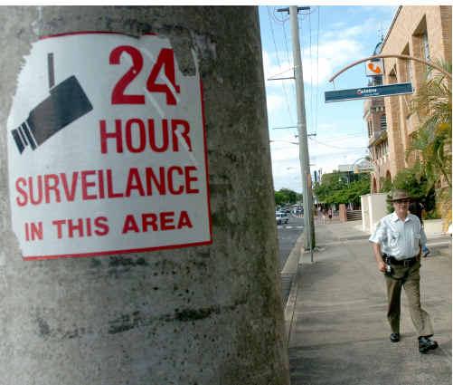 CCTV cameras are used in the Lismore CBD.