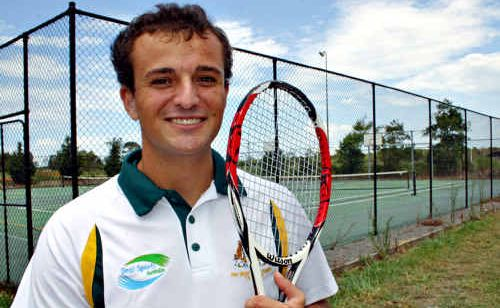 Jamie Zafir is a much improved player after representing Australia in Taipei.