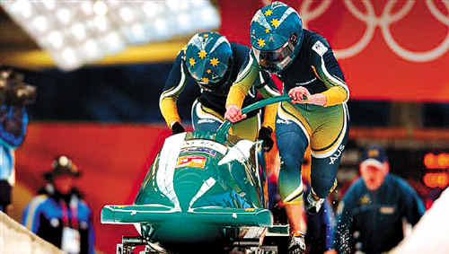 Globetrotter Astrid Loch-Wilkinson has her sights set on contesting the bobsleigh event in Vancouver.