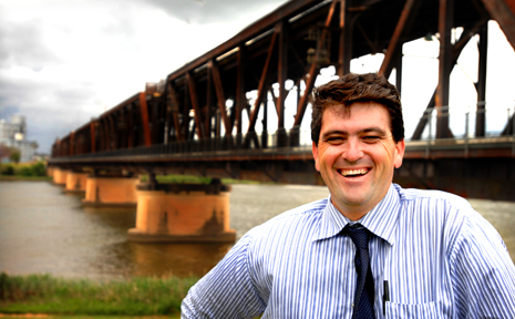 Clarence Valley Mayor Richie Williamson is happy that the RTA has given the second bridge at Grafton a green light.