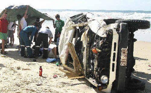 Fraser Island fatality.