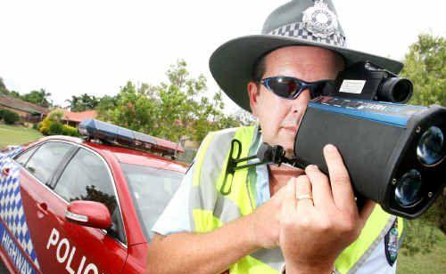 Senior Sergeant Ewan Findlater says hundreds of speeders have been nabbed.