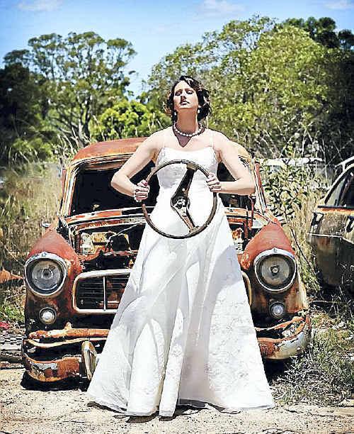 Sunshine Cruz Wedding Gown: Wacky (and Wonderful) Weddings