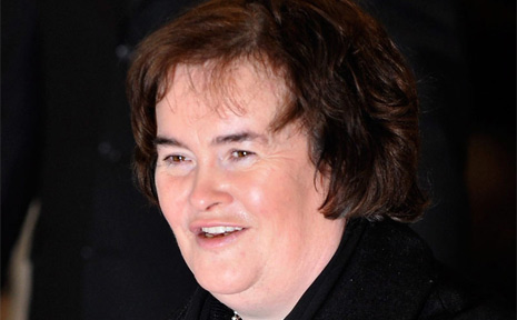 Scottish singing sensation Susan Boyle