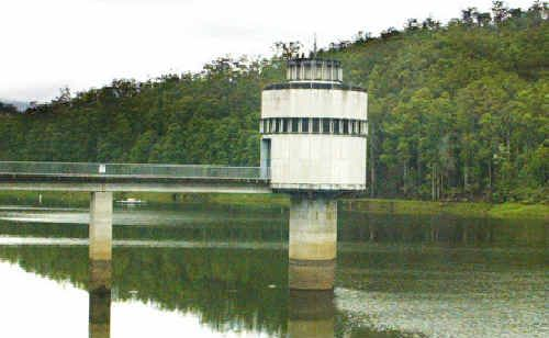 Clarrie Hall dam with a healthy level of water. Tweed Shire Council says 11.5 per cent of all water produced on the Tweed every year 'disappears'.
