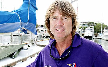 John Bankart will pass Jessica Watson, near Cape Horn.