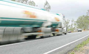 A notorious stretch of the Bruce Highway near Gin GIn known locally as the Big Dipper where there has been a string of accidents recently.