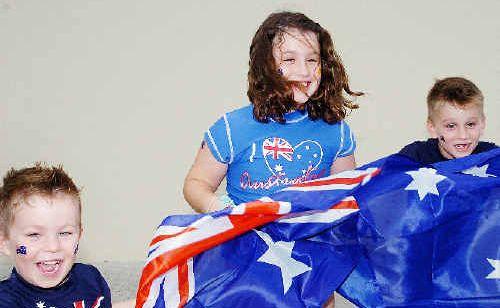 Raiden and Kiara will again celebrate their birthdays on Australia Day with their brother Keilon.