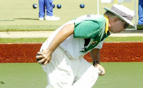 Former Australian representative Ian Taylor (Kingscliff), who 17-year-old Ballina hope Reece Wilson will play in the quarter-finals today.
