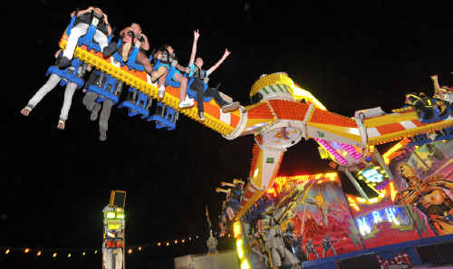 Riders of The Skywalker having a great time at the carnival last year.