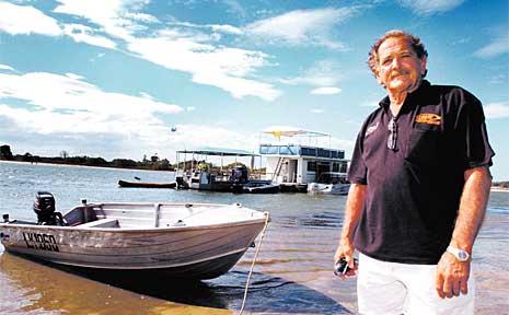 Boat skipper Barry Glass.