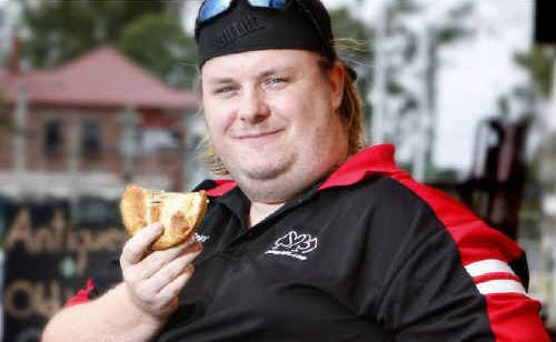 Scott McCoombes is relaxed about his weight.