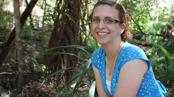 Robina scientist Claire Arthur is helping to preserve the local firefly population.