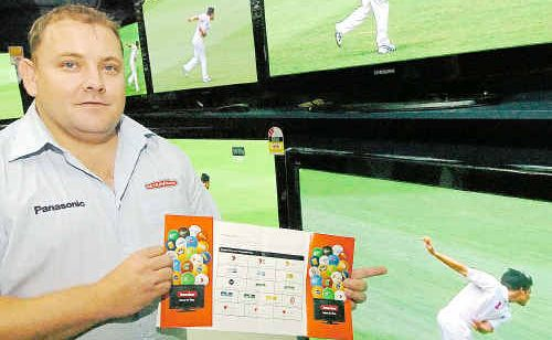 Brian Groves is one of the digital television experts at Bundaberg's Retravision store.