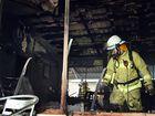 Exploding fridge sparks unit fire