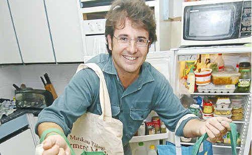 Dean Hazelwood is a keen market shopper.