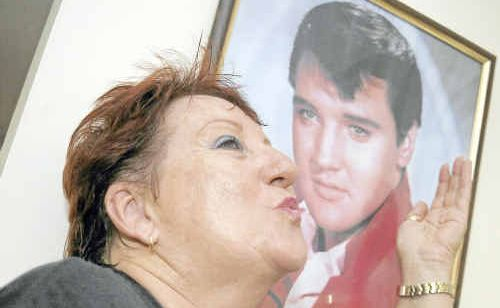 Trish Arnold is a huge Elvis Presley fan.