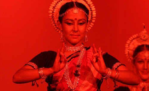 Natyashakti Dance Company closing Thursday's show.