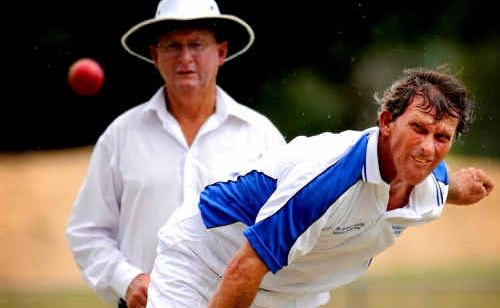 Greg Mears, from Tucabia Blue, will be one of the key players against Tucabia White at Ellem Oval today.
