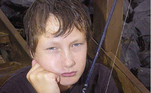 Young Izaiah Schwerin was devastated when his bag was stolen.