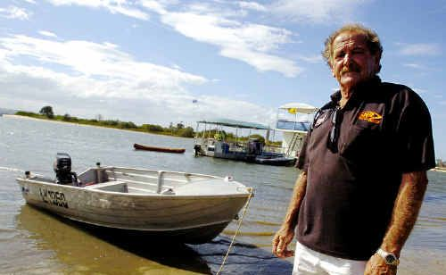 Barry Glass, of Pimlico, who rescued two men after a boating accident at Mobbs Bay, South Ballina, on December 30.
