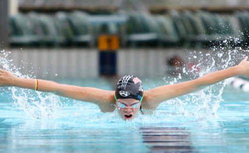 Karleigh Banks trains hard in preparation for this weekend's Central Queensland Sprint Meet at Rockhampton Grammar.