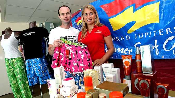 Sarah Harvey gets ready for her first even as fundraiser co-ordinator at the Talle surf club.