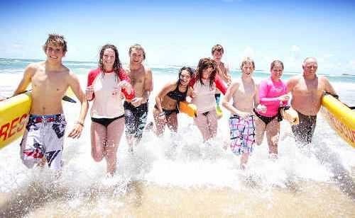 Marcoola Surf Lifesaving Club is hosting clubs from Victoria.
