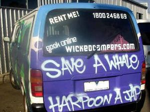 Wicked Campers to remove 'insensitive slogans'