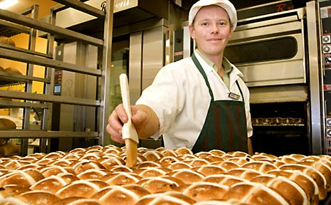 Last year, Baker's Delight whipped up more than 13 million hot cross buns and Coles reported selling more than 28 million of the symbolic Easter treat.