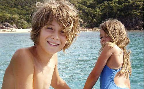 Pascal Dattler suffered severe head trauma at The Pass on Friday lunchtime when hit in the head by another surfer's board. The boy's father wants inexperienced surfers warned of the dangers their boards can pose.